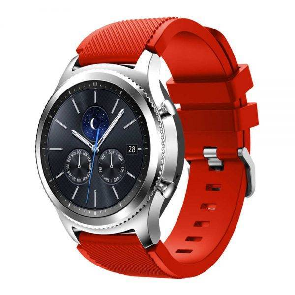 Gear S3 Frontier/Classic Watch Band 22mm Silicone Sport Replacement Watch Men women's Bracelet watches Strap for Samsung Gear S3 Electronics Fashion Watch 58c99d5d65c49cc7bea0c0: Black blue Brown deep blue deep green gray Green lighet bule midnight blue mint green orange Orange red Purple red Rose Red white yellow