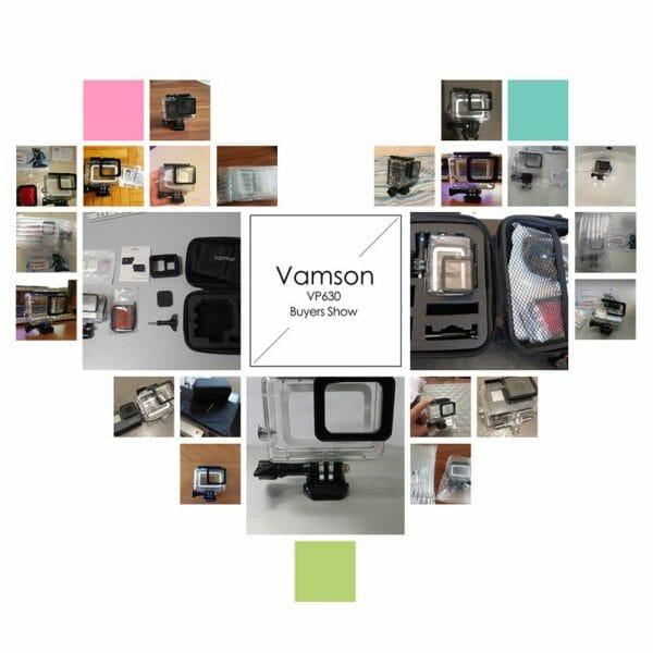Vamson for Gopro Hero 7 6 5 Accessories Waterproof Protection Housing Case Diving 45M Protective For Gopro Hero 6 5 Camera VP630 Camera dfe6076e1d429c24edcbb2: VP630 VP630A VP630B