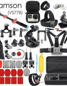 Vamson for Gopro Accessories Set for go pro hero 7 6 5 4 3 kit 3 way selfie stick for Eken h8r / for xiaomi for yi EVA case VS77 Camera dfe6076e1d429c24edcbb2: VS77|VS77A|VS77B|VS77C|VS77D|VS77E|VS77F