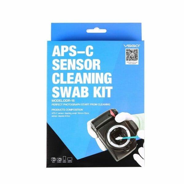 Camera & Photo CCD/CMOS Cleaning Swab Suit VSGO Sensor Cleaning Kit DDR-16 for APS-C DSLR Sensor Cleaning Camera Model Number: DDR-16