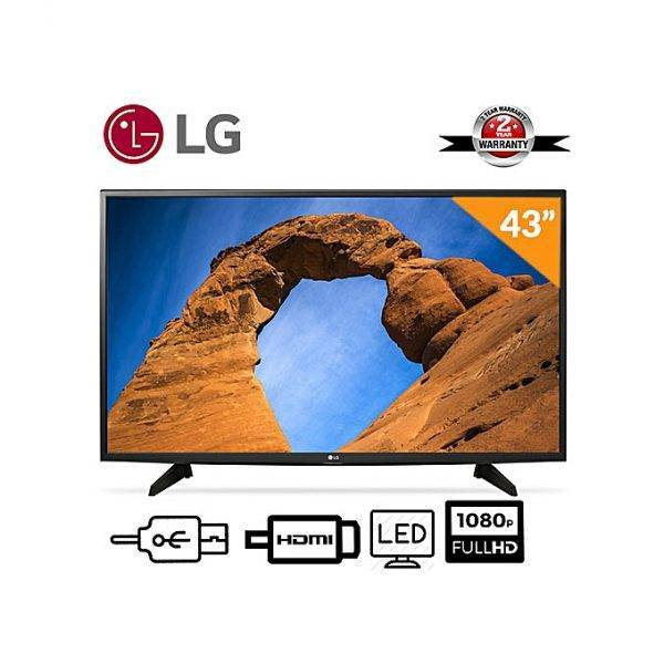 LG 43-Inch LED FHD TV + 12 Months Warranty 43 - 54 Inches LCD & LED TVs Smart TVs Television & Video Televisions