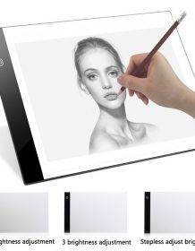 LED Digital Graphic Tablet A4 Computers iPads Phones & Tablets Tablets color: No Dimming|Stepless Dimming|Three - Level Dimming