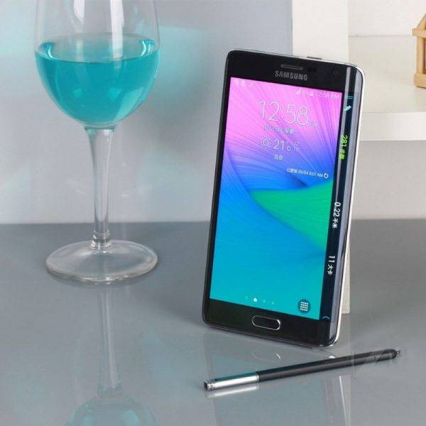 Unlocked Original Samsung Galaxy Note Edge N915 Mobile Phone US Version 4G Android 5.6″ 16MP 32GB ROM,Free Shipping Samsung 1 color: Black color|white color