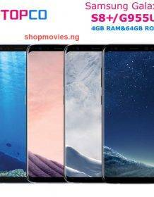 Samsung Galaxy S8+ S8 Plus Original Unlocked G955U 4G LTE NFC Android Phone Snapdragon Octa Core 6.2″ 12MP RAM 4GB ROM 64GB Android Phones Mobile Phones Phones & Tablets Samsung Smartphone bundle: Add charger and 128G Add charger and 256G Add charger and 64GB Add Wireless Charger Standard