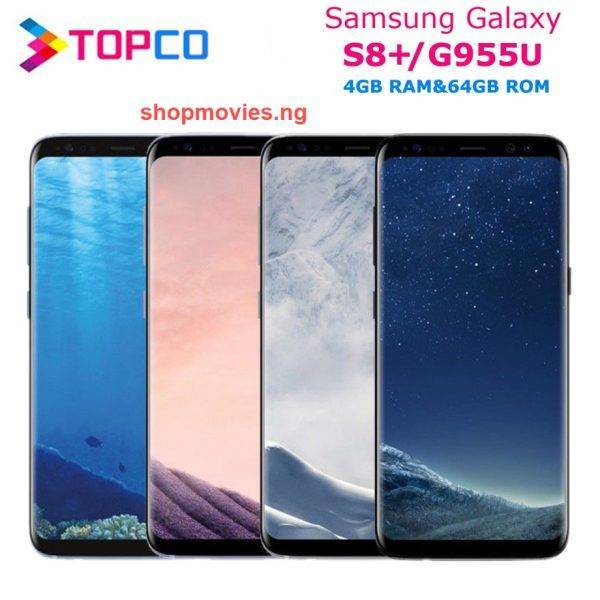 Samsung Galaxy S8+ S8 Plus Original Unlocked G955U 4G LTE NFC Android Phone Snapdragon Octa Core 6.2″ 12MP RAM 4GB ROM 64GB Android Phones Mobile Phones Phones & Tablets Samsung Smartphone bundle: Add charger and 128G|Add charger and 256G|Add charger and 64GB|Add Wireless Charger|Standard