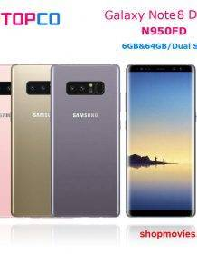 Samsung Galaxy Note8 Duos Note 8 N950FD Unlocked 4G LTE Android Phone Exynos Octa Core 6.3″ Dual 12MP RAM 6GB ROM 64GB NFC Android Phones Mobile Phones Phones & Tablets Samsung Smartphone bundle: Add charger and 128G|Add charger and 256G|Add charger and 64GB|Add Wireless Charger|Standard