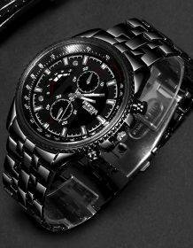 Fashion Watch Men Watches Top Brand Luxury Male Clock Business Men's Watch Hodinky Relogio Masculino Relojes Hombre 2019 Electronics Fashion Watch color: Black