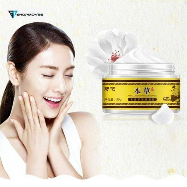 Wrinkle Cream Chinese Herbal With Retinol, Jojoba Oil, Vitamin E. Reduces Fine Lines Repair Dry Lines Moisturizing Cream Beauty & Health Brand Name: LANBENA