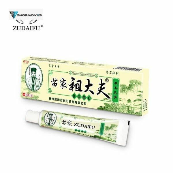 YIGANERJING Zudaifu Psoriasis Cream Skin Care Cream Psoriasis Skin Cream Dermatitis Eczematoid Eczema Ointment Treatment 15g Beauty & Health Brand Name: YIGANERJING