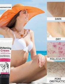 Whitening Cream for Sensitive Area Underarm Cream Lightening Cream for Black Skin Legs Collagen Milk Private Parts Body Lotion Beauty & Health Brand Name: EMURWLECR