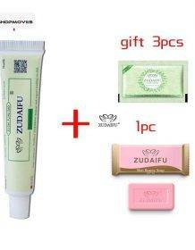 3pcs ZUDAIFU Body Psoriasis Cream Skin Care Psoriasis Ointment Dermatitis Eczematoid Eczema Ointment Skin Treatment Cream no box Beauty & Health shipsfrom: China|United States