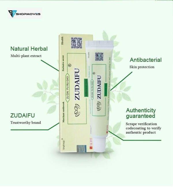 3pcs ZUDAIFU Body Psoriasis Cream Skin Care Psoriasis Ointment Dermatitis Eczematoid Eczema Ointment Skin Treatment Cream no box Beauty & Health shipsfrom: China|United States