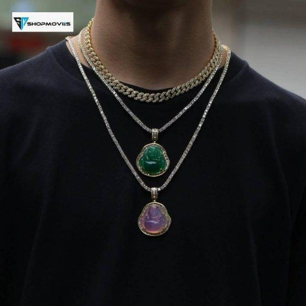 UWIN Buddha Pendant Necklaces For Women Gold Silver Color Colored Gem Necklace Fashion Jewelry New Style Drop Shipping Beaded Necklaces Chokers Crystal Necklaces Jewelry Necklaces 8d255f28538fbae46aeae7: gold-orange|green-gold|green-silver|pink-gold|pink-silver|red-gold|red-silver|transparent gold|transparent silver|white-gold|white-silver|yellow-gold|yellow-silver