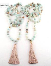 RH Fashion Yoga Jewelry 8mm 108pc Beaded Amazonite Stone Buddha Charm Mala Necklace For Women Lariat Necklaces Beaded Necklaces Charm Necklaces Chokers Jewelry Necklaces 8d255f28538fbae46aeae7: Antique Gold Plated|Antique Silver Plated