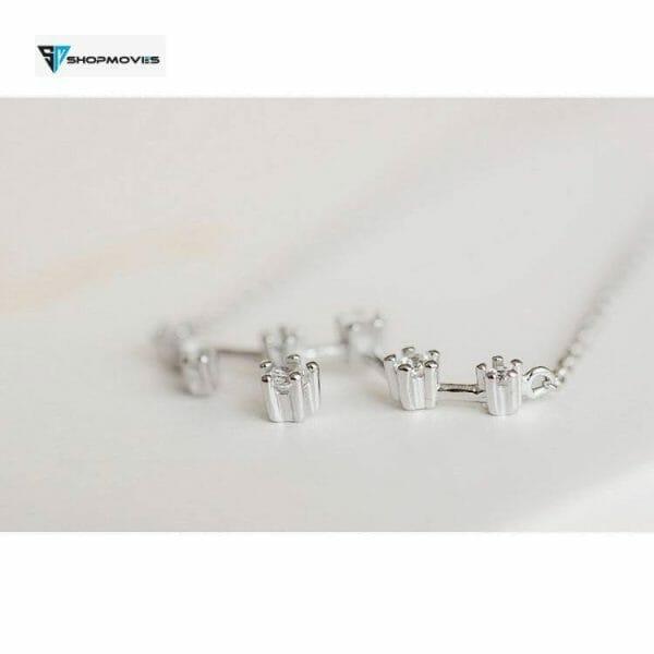 ANENJERY Silver Color Zodiac Necklace Celestial Jewelry Best Friend Gift Constellation Necklace S-N487 Crystal Necklaces Customized Necklaces Jewelry Necklaces 8d255f28538fbae46aeae7: Aquarius|Aries|Cancer|Capricornus|Gemini|Leo|Libra|Pisces|Sagittarius|Scorpio|Taurus|Virgo