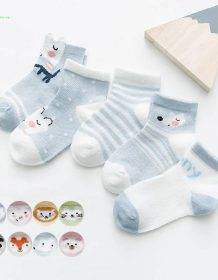 5Pairs/lot 0-2Y Infant Baby Socks Baby Socks for Girls Cotton Mesh Cute Newborn Boy Toddler Socks Baby Clothes Accessories Baby Kid Toys Infant Toys color: 01|02|03|04|05|06|07|08|09|10|11|12|13