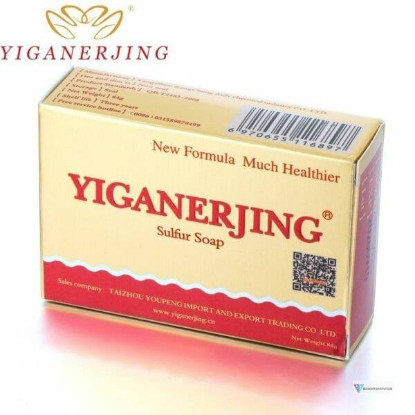 Yiganerjing Sulfur Soap Psoriasis Eczema Ointment Acne Seborrhea Suitable All Skin Diseases Anti Fungus Bags Beauty & Health Fashion Women's Fashion Brand Name: QINGFANGLI