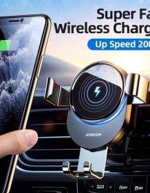 15W Qi Car Phone Holder Wireless Charger Car Mount Intelligent Infrared for Air Vent Mount Car Charger Wireless ForiPhone Xiaomi Mobile Phones Phone Cases Phones & Tablets