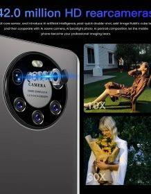 2021 Latest Smart Phone Mate 50 Pro 12Gb Ram 512Gb Rom Dual SIM Unlocked Smartphone Android 10.0 Deca Core 4G/5G Mobile Phones Mobile Phones Phones & Tablets Smartphone